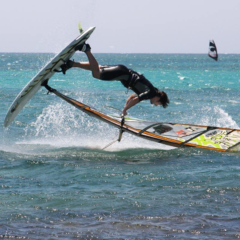 windsurfing Crete Elafonisi
