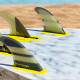 FCS windsurfing adaptor full surf fin setup
